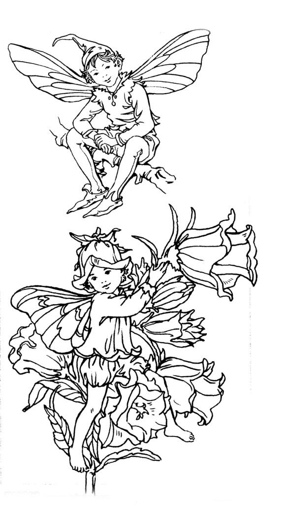 花仙子人物漫画图片